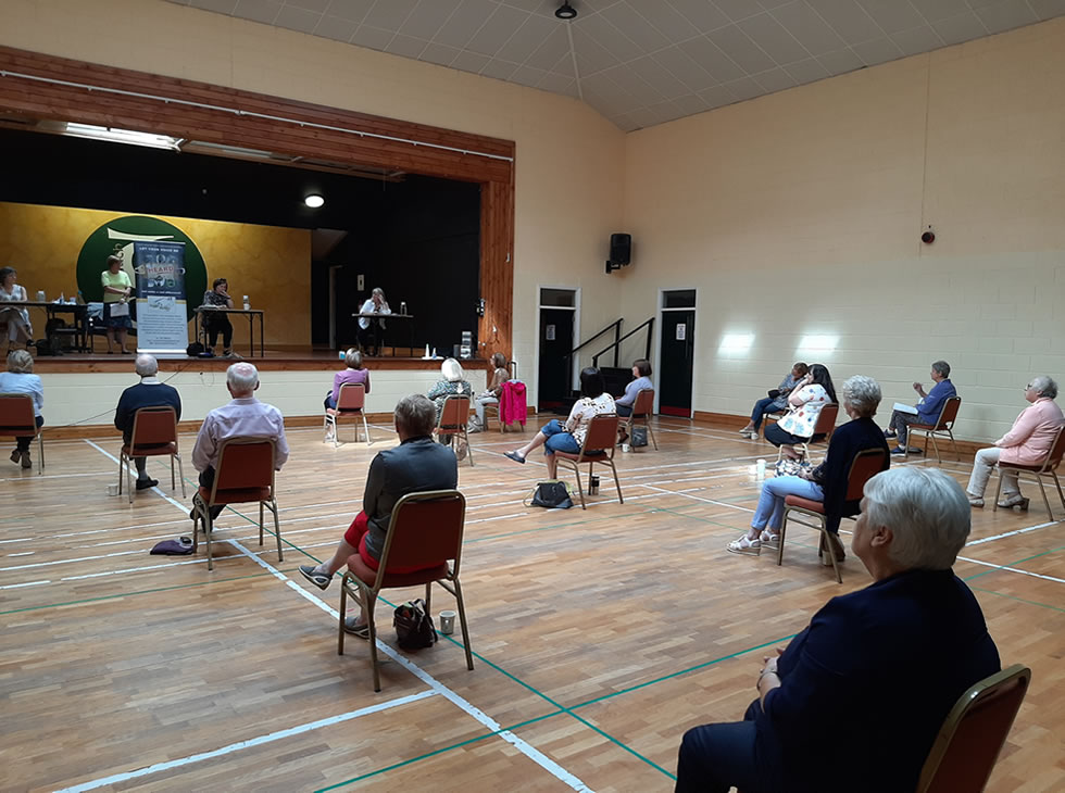Community Hall Peer Support Session CWPPN July 2020
